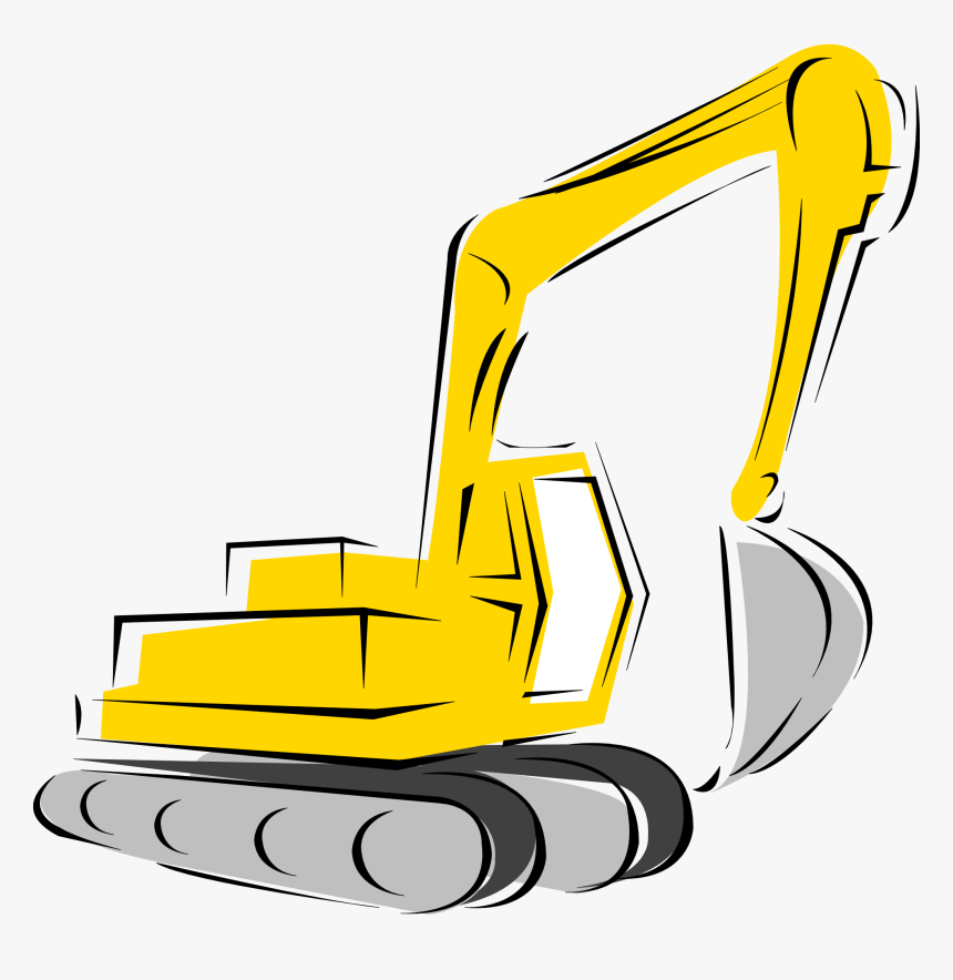 Backhoe Loader Heavy Equipment Clip Art - Equipment Clipart, HD Png Download, Free Download