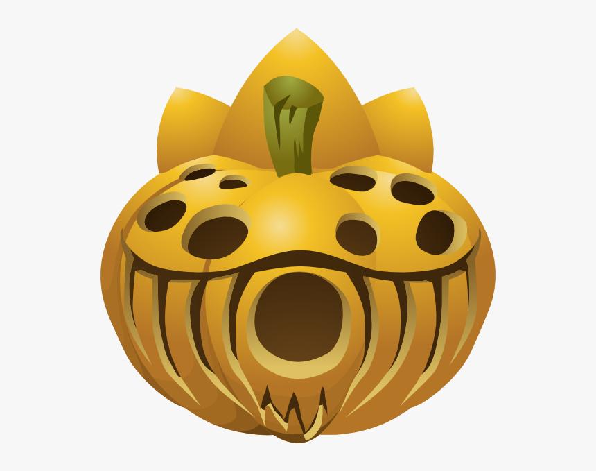 Carved Pumpkin Svg Clip Arts - Pumpkin, HD Png Download, Free Download