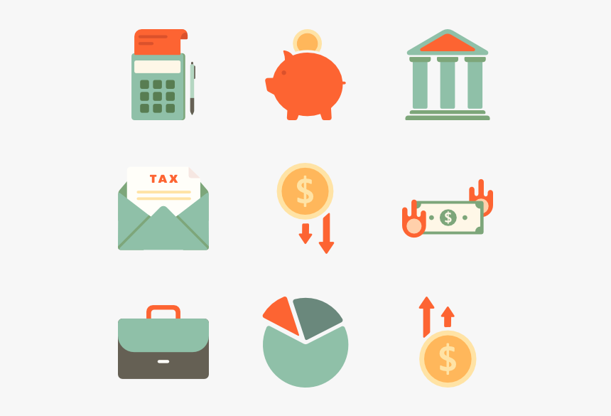 Vector Icon Financial, HD Png Download, Free Download