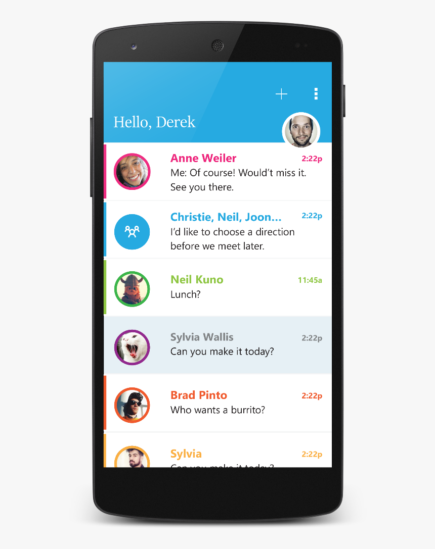 Expanding The Availability Of Send Fi - Microsoft Message App Android, HD Png Download, Free Download