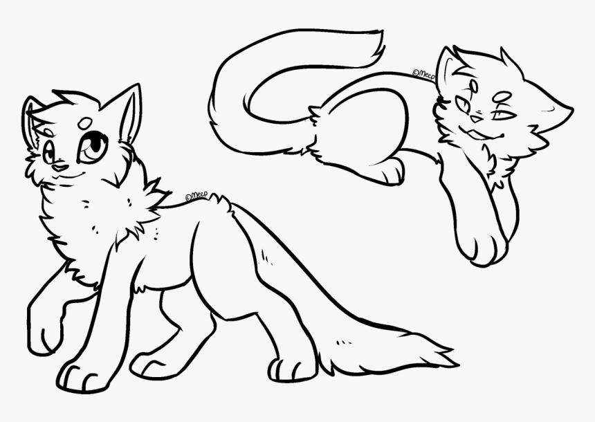 F2u Cat Lineart - Cartoon, HD Png Download, Free Download
