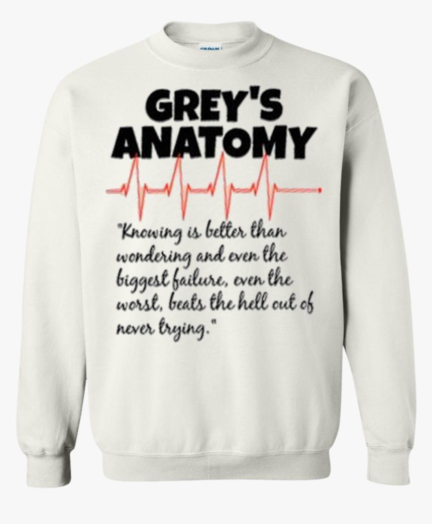 "Transparent Grey""s Anatomy Png - Sweatshirt, Png Download, Free Download"