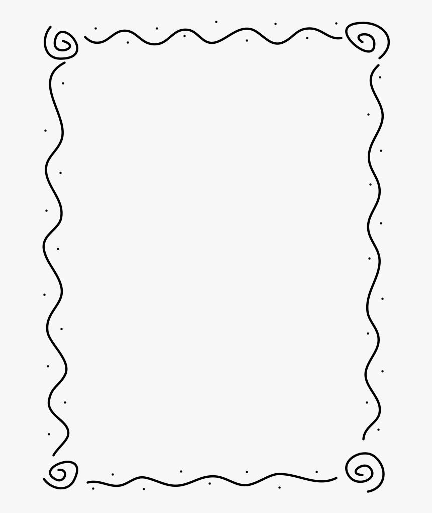 Borda Para Desenho Livre Hd Png Download Kindpng