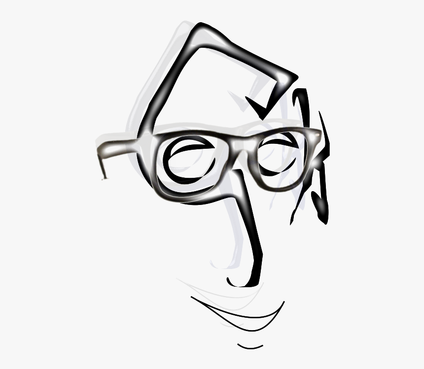 Smiling Nerdy Face, HD Png Download, Free Download