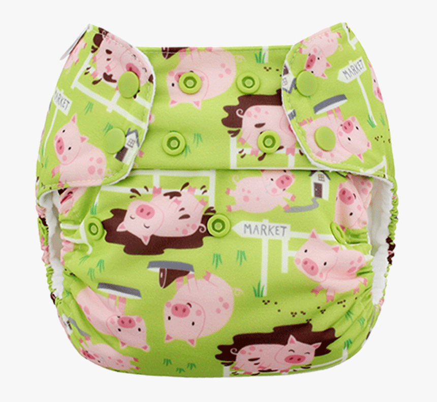 Blueberry Diaper Little Piggy, HD Png Download, Free Download