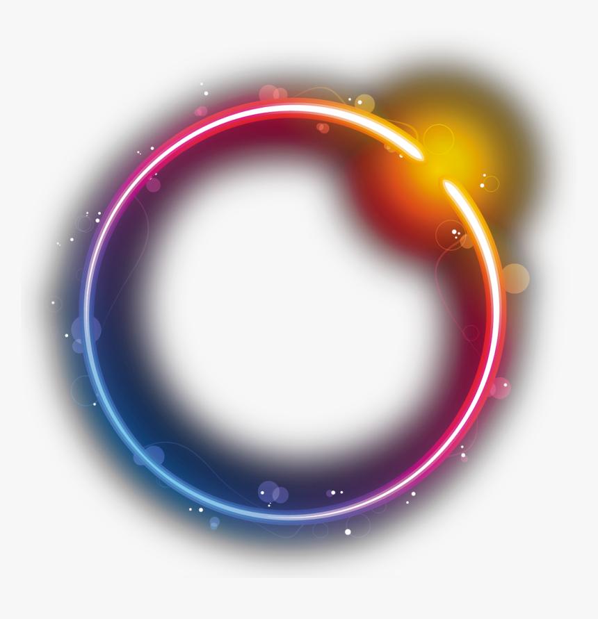 Transparent Star Glow Png - Transparent Rainbow Circle Png, Png Download, Free Download