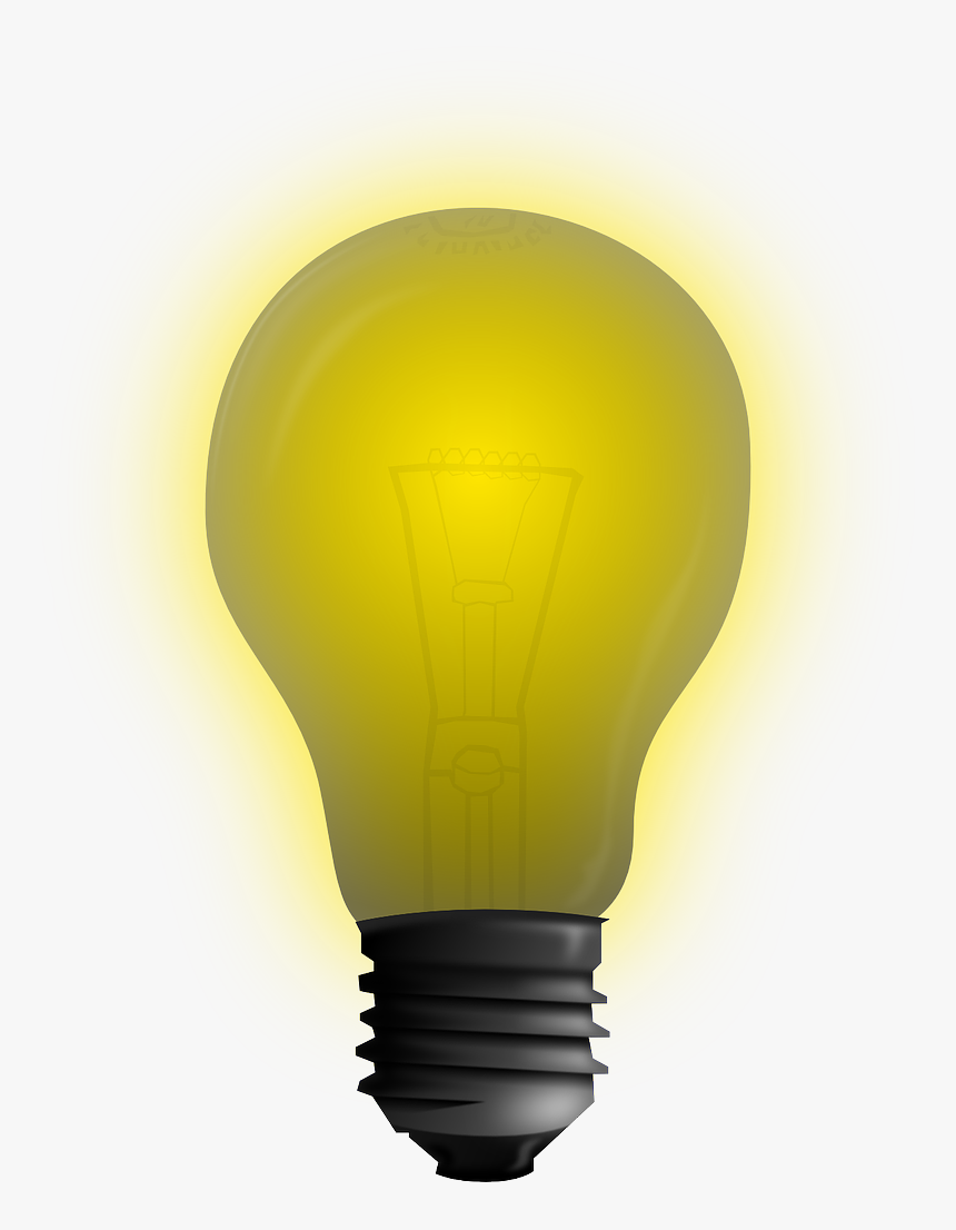 Bulb Concept Idea Free Photo - Png Gif Light Bulb, Transparent Png, Free Download
