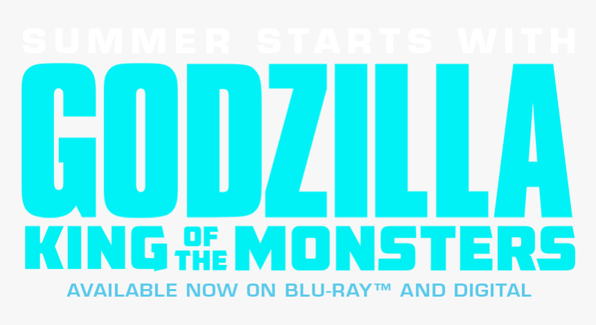 Godzilla King Of The Monsters Logo, HD Png Download, Free Download