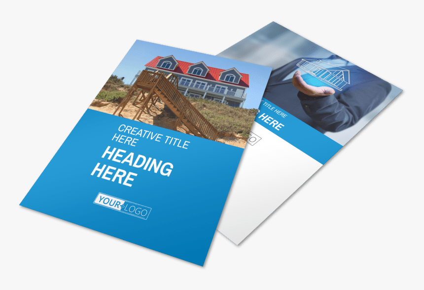 Villa Rental Flyer Template Preview - Flyer, HD Png Download, Free Download