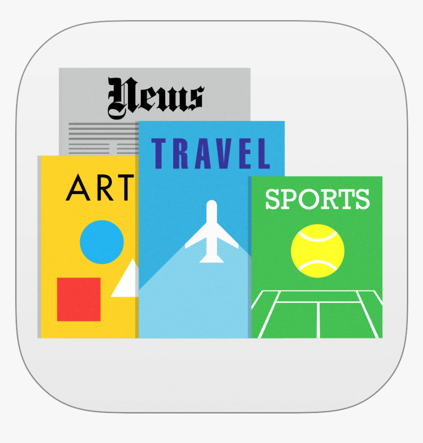 Newsstand Icon - Apple Newsstand Icon Png, Transparent Png, Free Download
