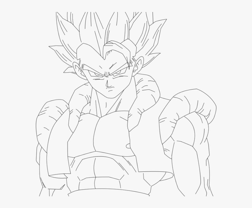 Gogeta Coloring Pages Desenhos Para Colorir Dragon Ball Z Do