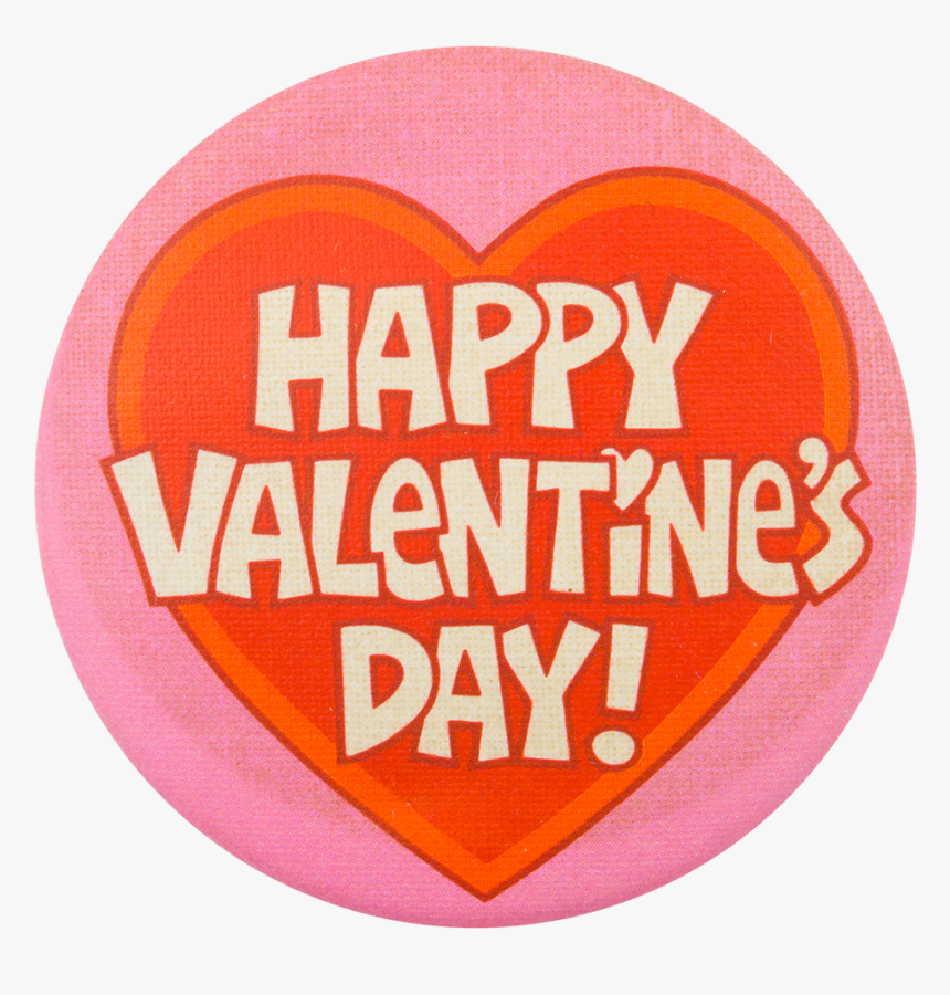 "Happy Valentine""s Day Heart Event Button Museum - Circle, HD Png Download, Free Download"