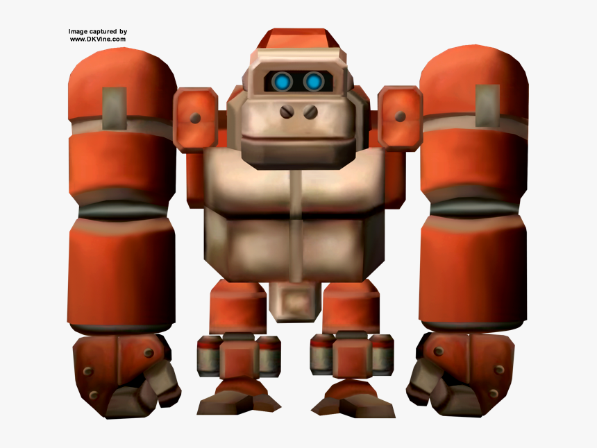 Transparent Donkey Kong Country Png - Donkey Kong Country Robot, Png Download, Free Download