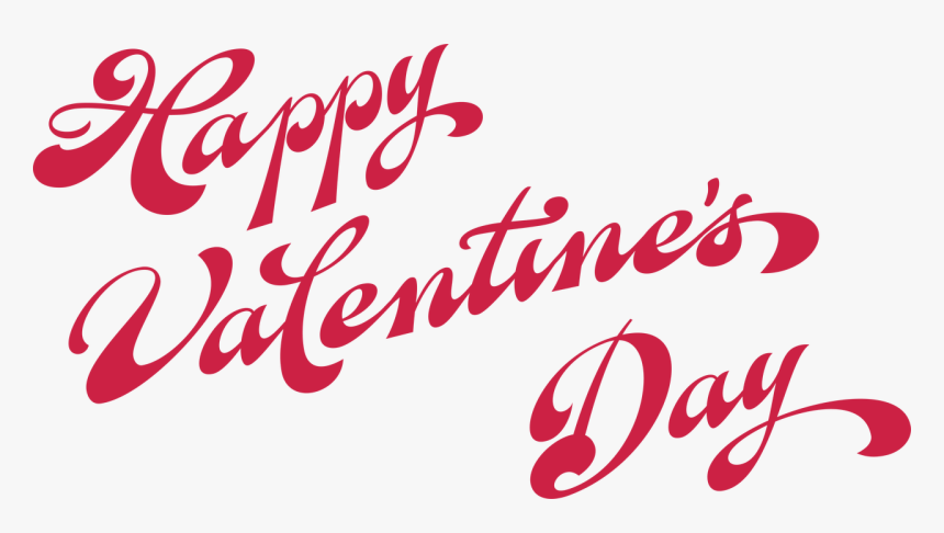 """Happy Valentine""""s Day Words Svg Cut File - Valentine Words, HD Png Download, Free Download"""