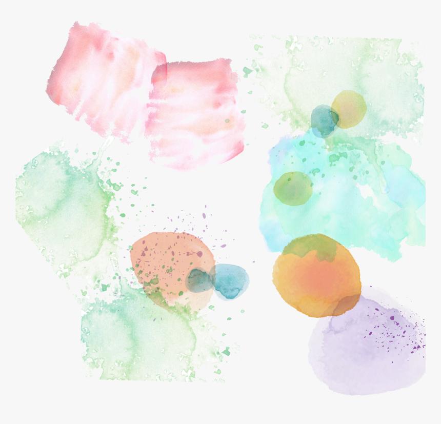 Transparent Watercolor Splash Background Png - Illustration, Png Download, Free Download