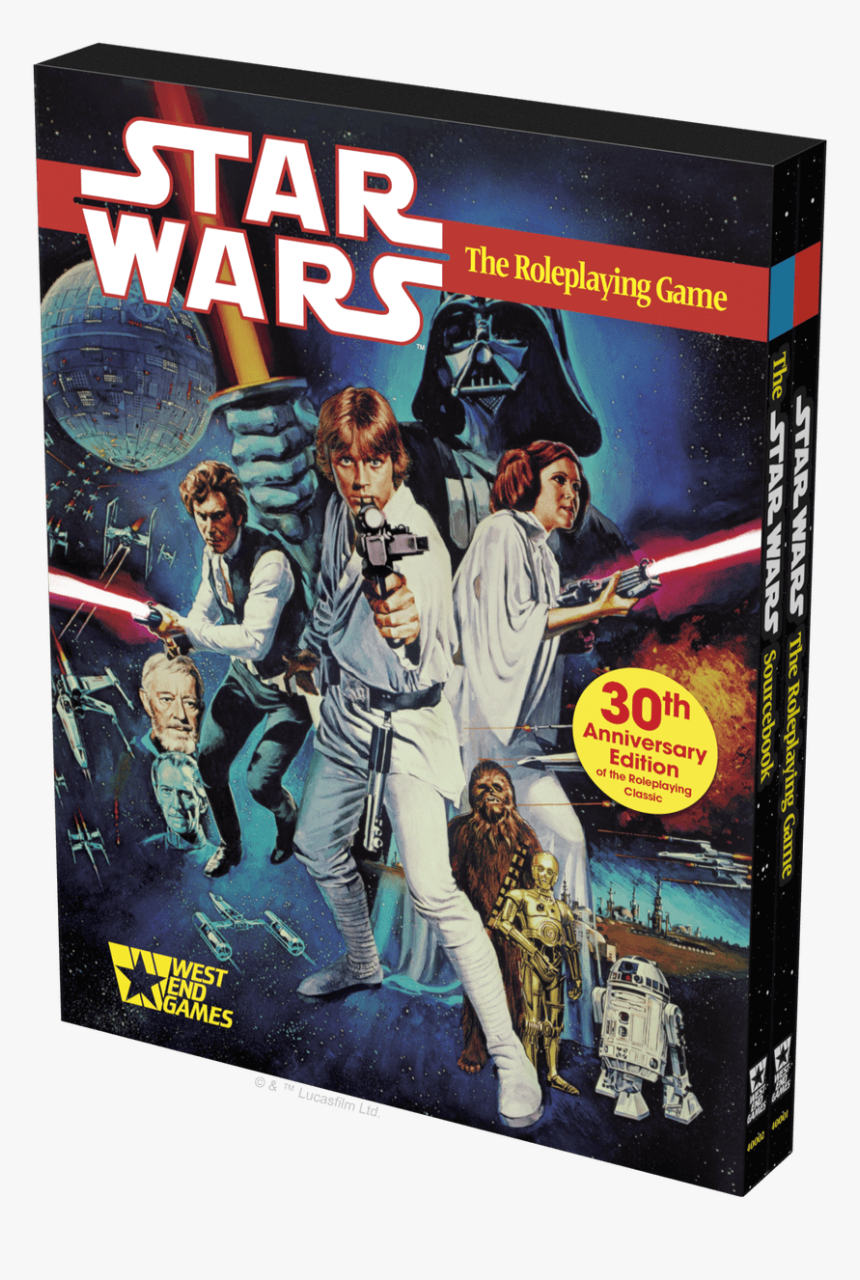 Star Wars Rpg 30th Anniversary Edition, HD Png Download, Free Download