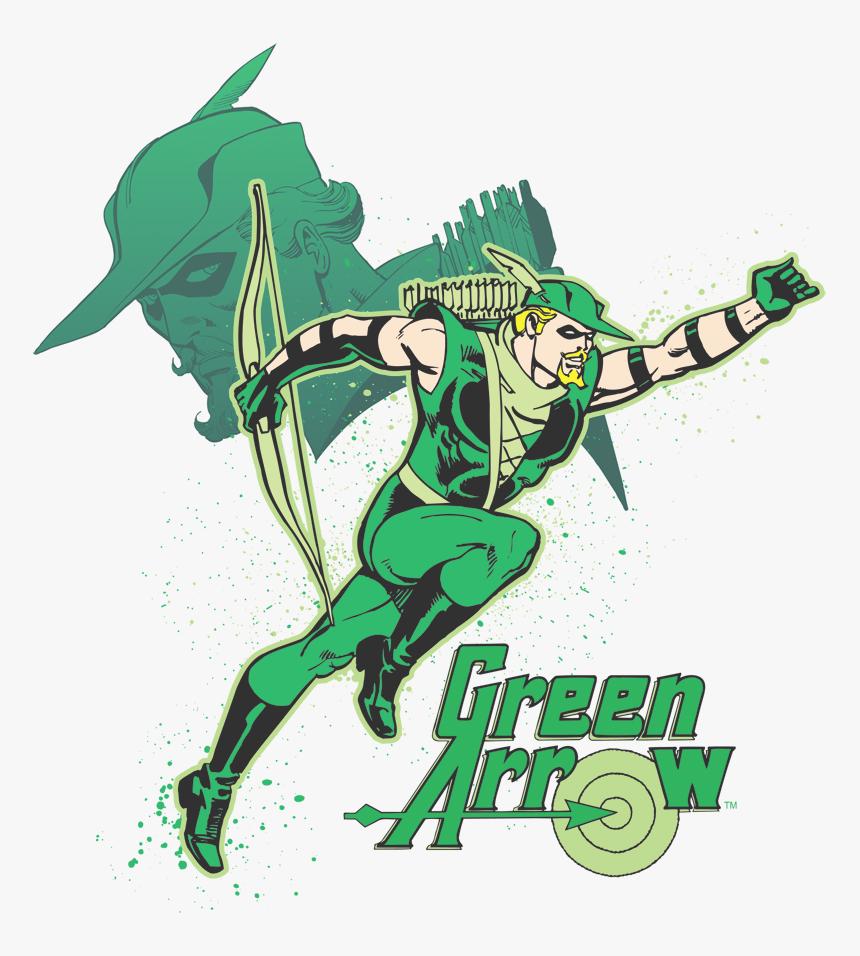 Green Arrow Comic Logo, HD Png Download, Free Download