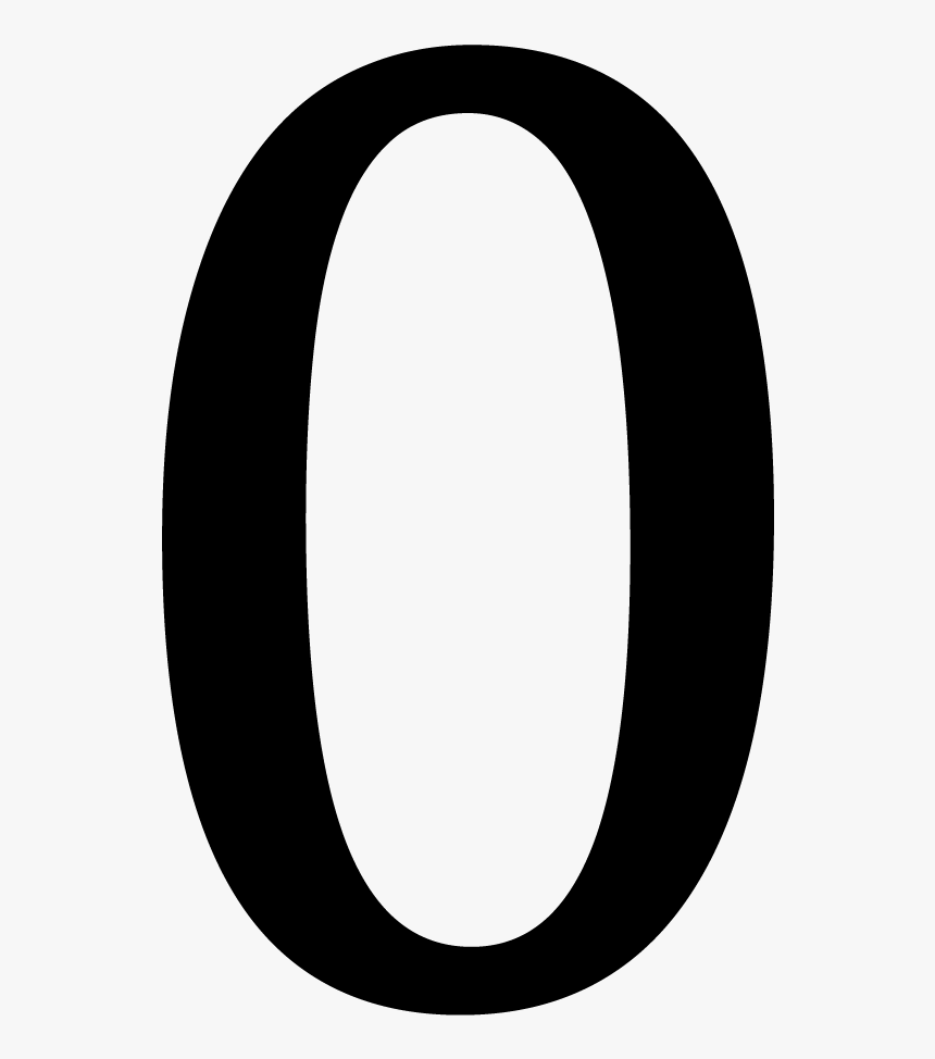 Number Zero Png - 0 Png, Transparent Png, Free Download