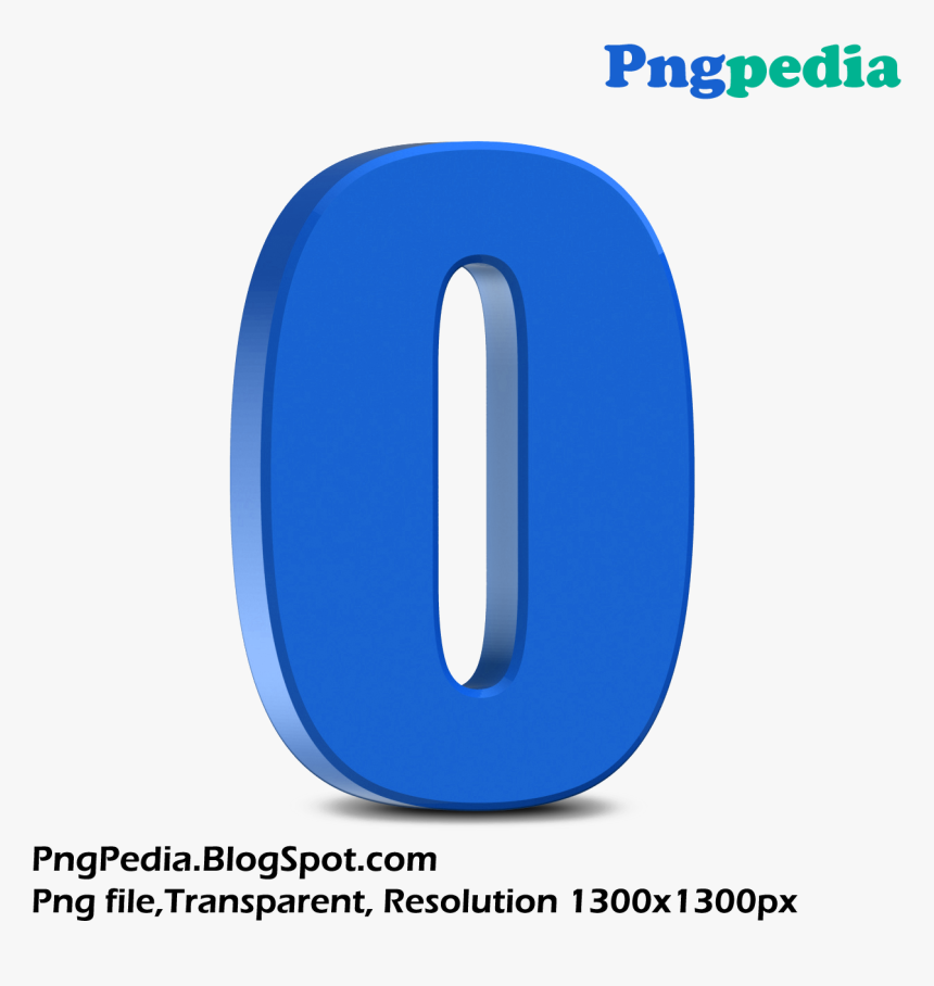 Transparent Numbers Png - Number 0 3d Png, Png Download, Free Download