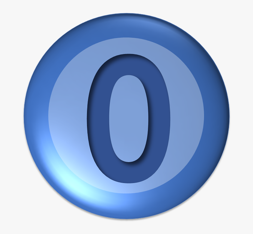Ball, Numbers, Zero, Button, Days - Zero Button, HD Png Download, Free Download