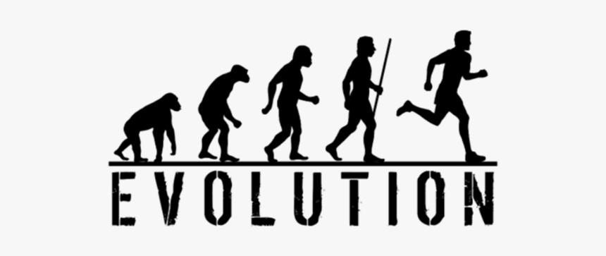 Evolution Of Man Png - Evolution Of Man Running, Transparent Png, Free Download