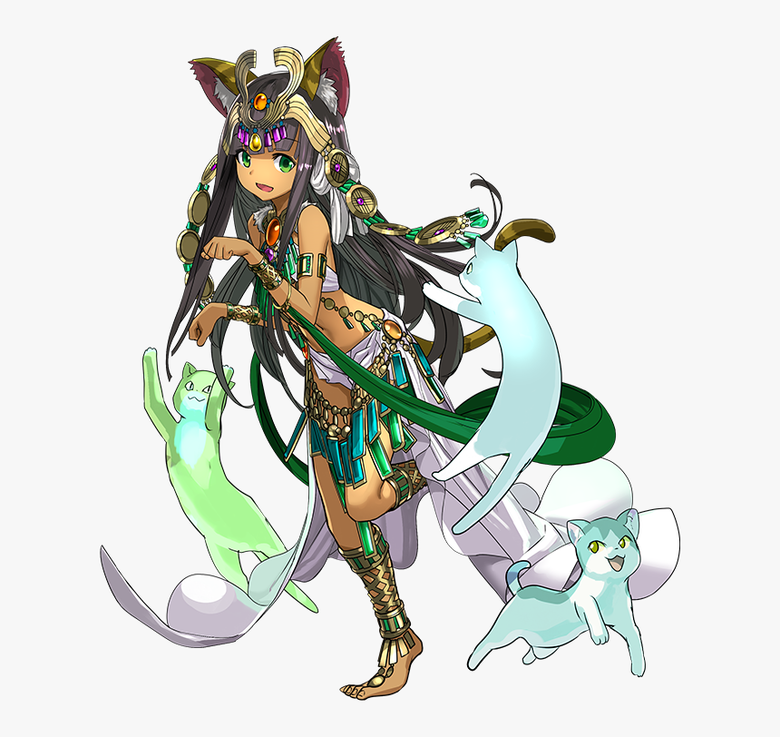 Puzzle And Dragon Reincarnated Bastet, HD Png Download, Free Download