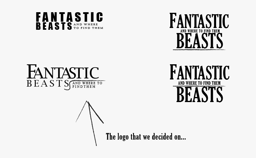 Fantastic Beasts Design, HD Png Download, Free Download