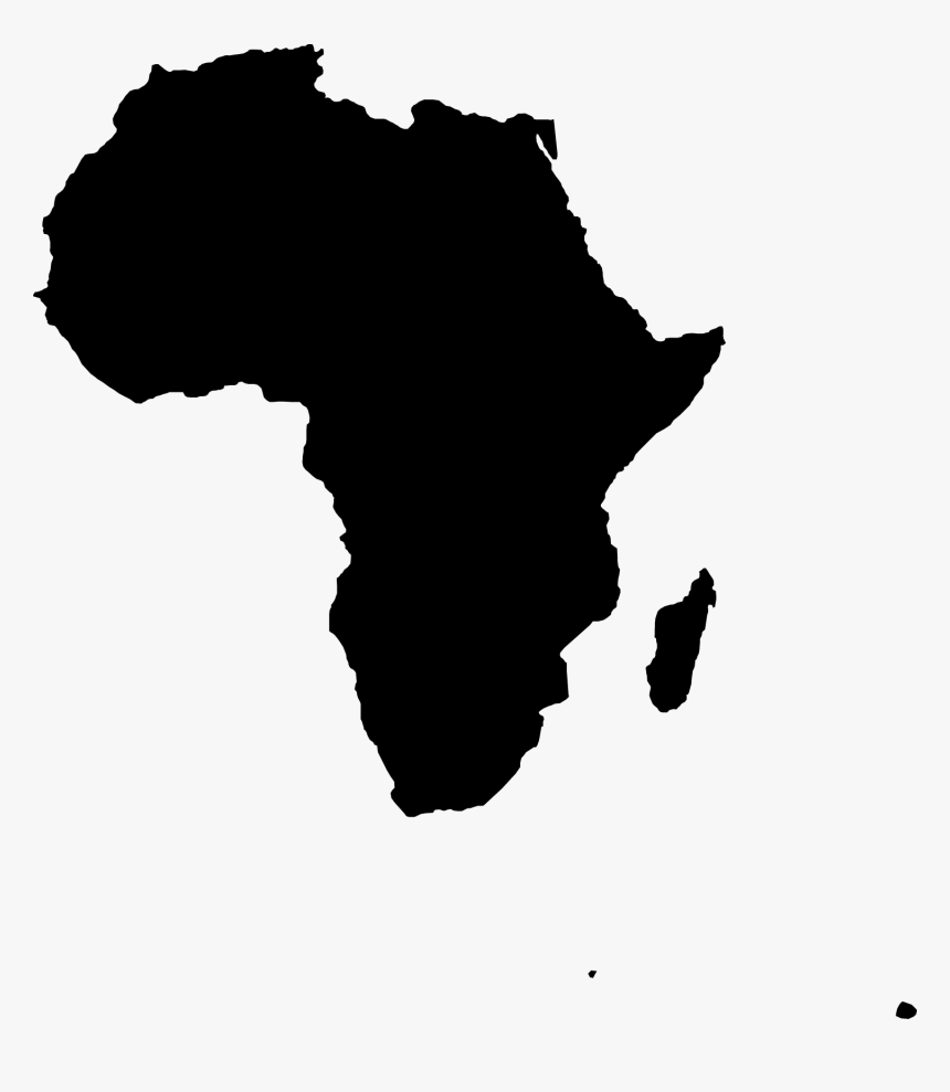 Map Of Africa Clipart - Africa Map Vector Png, Transparent Png, Free Download