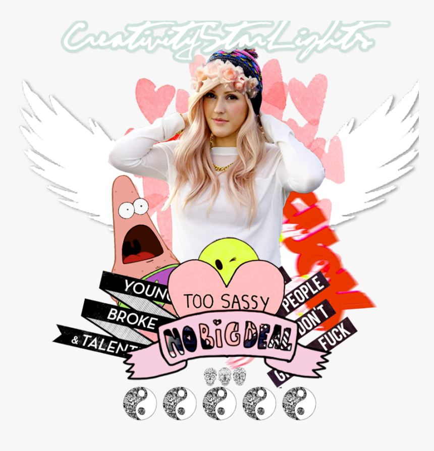 Id Ellie Goulding Tumblr By C - Poster, HD Png Download, Free Download
