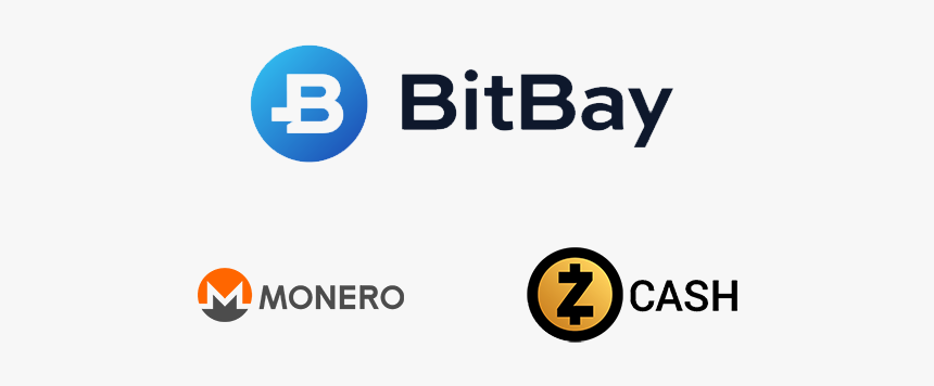 Monero And Zcash (zec) Now Available On Bitbay - Monero, HD Png Download, Free Download