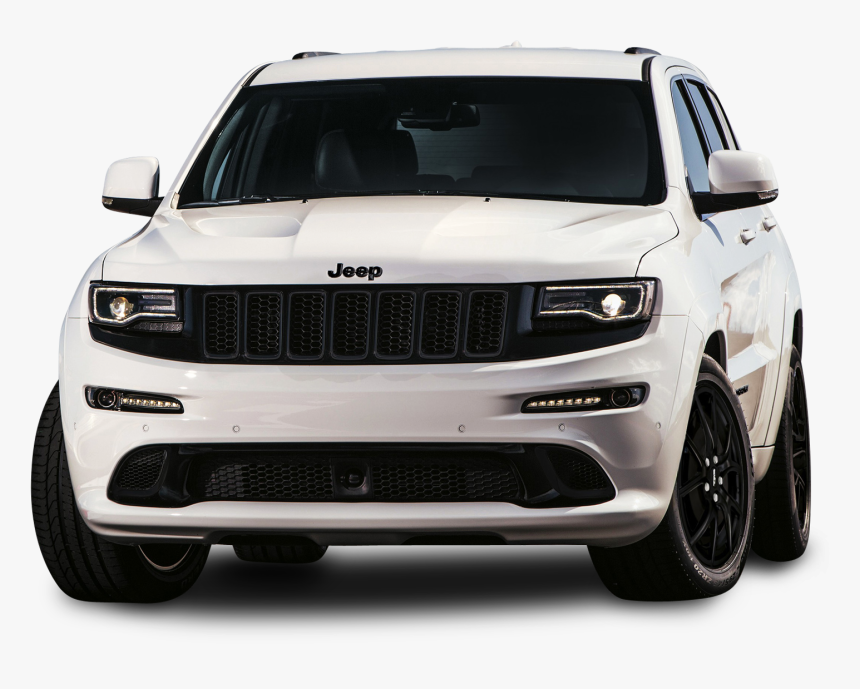 Jeep Grand Cherokee Srt White Car Png Image- - 2020 Jeep Grand Cherokee Sport, Transparent Png, Free Download