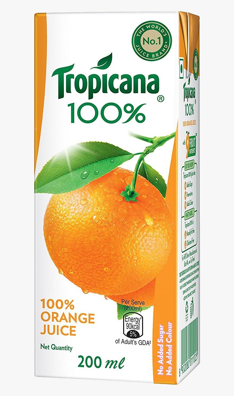 Tropicana Juice Orange Png - Tropicana 100% Mixed Fruit Juice, Transparent Png, Free Download