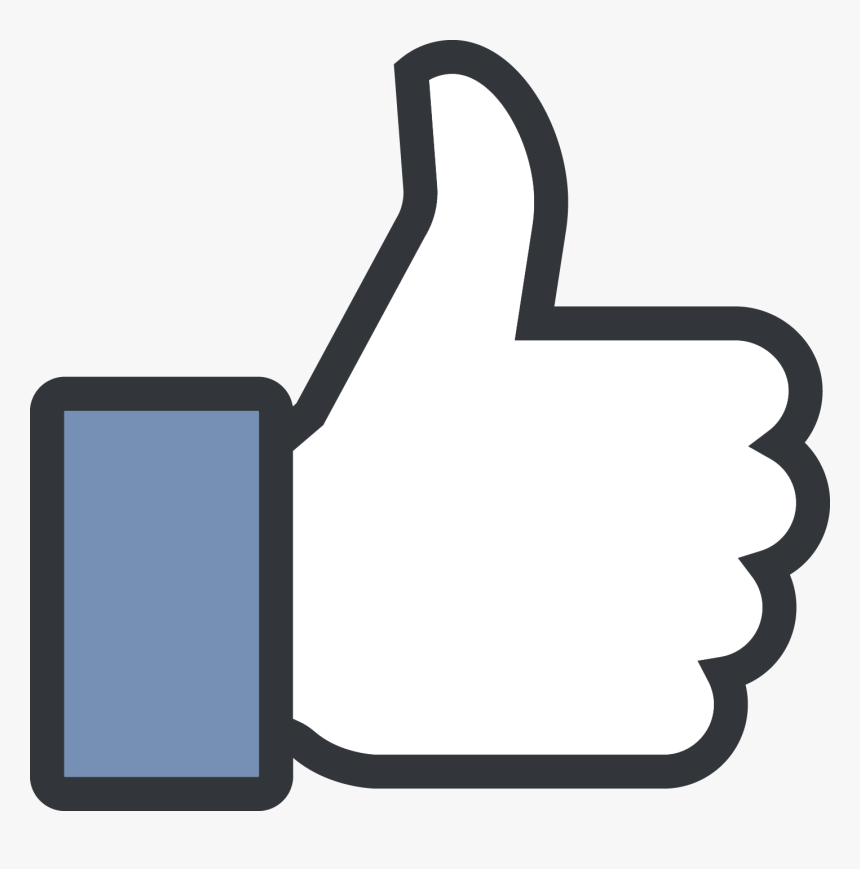 Like Png - Facebook Thumbs Up Png, Transparent Png, Free Download