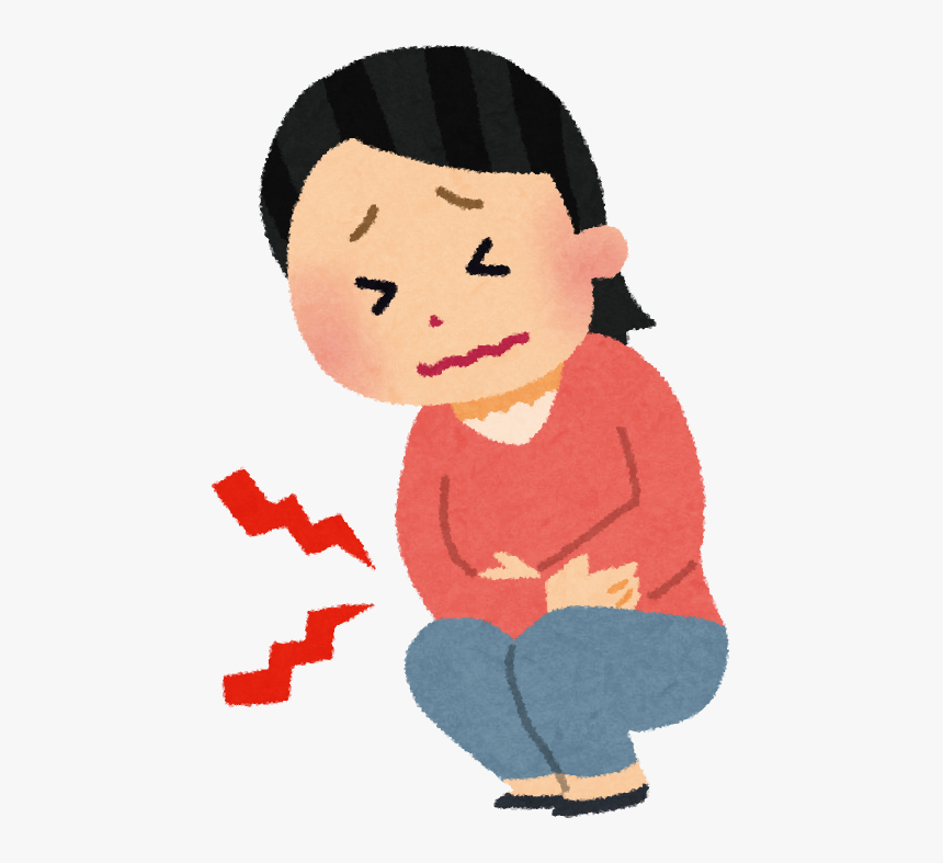 Period Pain Wen Jing Tang Melbourne Acupuncture Clinic Abdominal Pain Cartoon Hd Png Download Kindpng