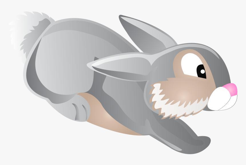 Rabbit Cartoon Clip Art - Rabbit Cartoon Png, Transparent Png, Free Download