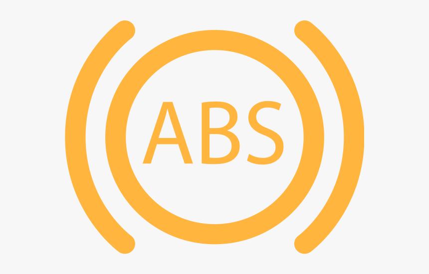 Abs Warning Light In Orange - Regenerative Braking Symbol, HD Png Download, Free Download