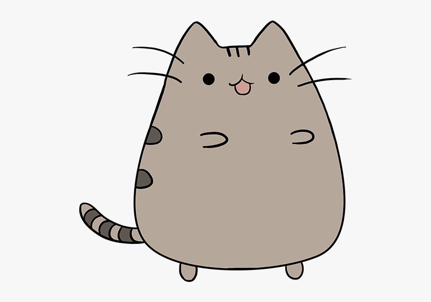 How To Draw Pusheen The Cat Cartoon Cat Drawing Pusheen Hd Png Download Kindpng