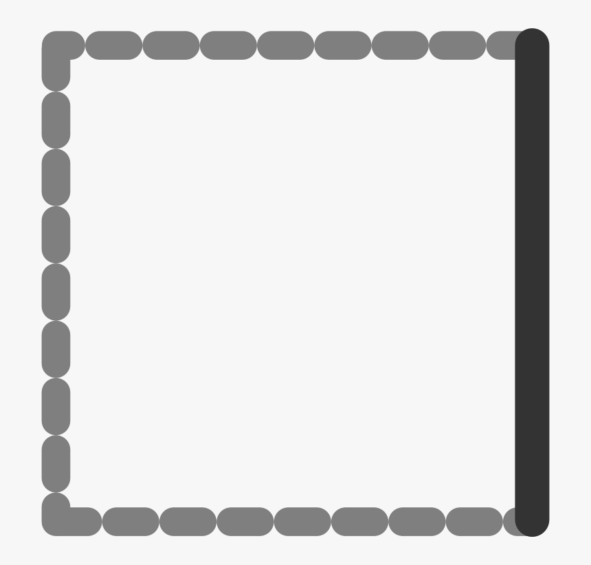 border lines png grey border lines - black-and-white, hd png download - kindpng