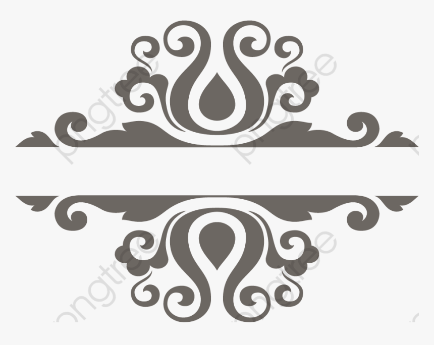European Style Frame Creative - Fancy Border White Png, Transparent Png, Free Download