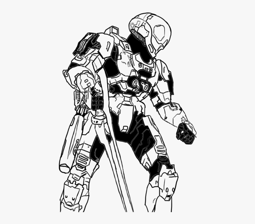 Fearless Xbox Halo 3 Coloring Sheets | Halo 3 | Free | 754x860