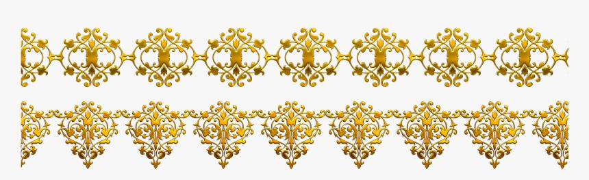 Clip Art Library Flower Pattern Transprent Png Free - Pattern Gold Vector Png, Transparent Png, Free Download
