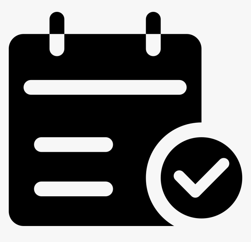 Svg Png Icon Free - Appointment Reminder Icon, Transparent Png, Free Download