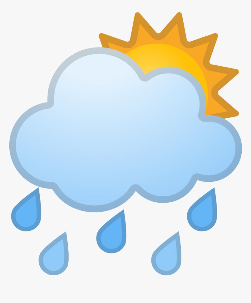 Transparent Rain Cloud Png - Rainy Emoji, Png Download, Free Download