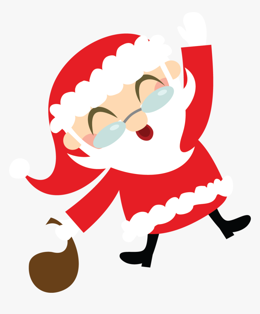 Vector Happy Holidays Clip Art Free Vector For Free Christmas Santa Holiday Clipart Hd Png Download Kindpng