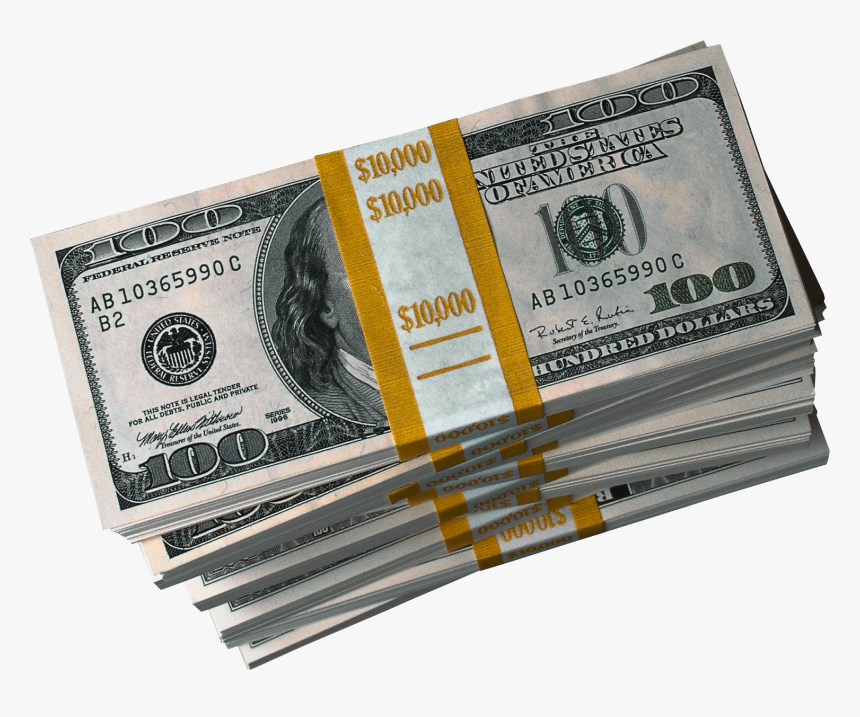 80000 Dollars In Cash, HD Png Download, Free Download