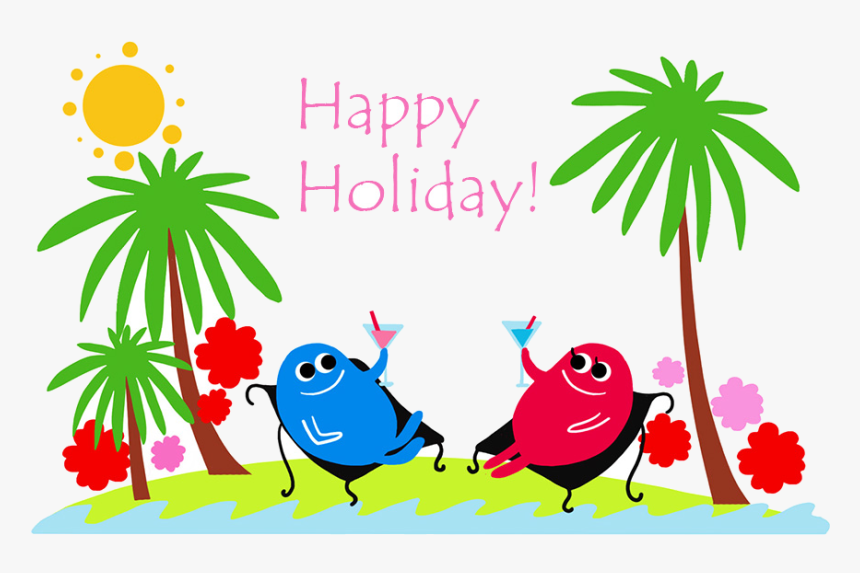 Holiday Happy Holidays Summer Clip Art Graphics Transparent ...