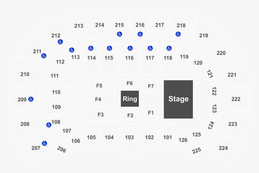 State Farm Arena Seating Chart, HD Png Download, Free Download