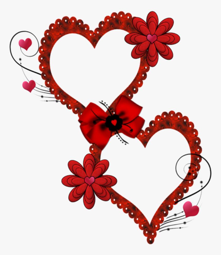 Valentine Frame Clip Art, Hearts, Candy, Chocolate - Marco San Valentin  Png, Transparent Png , Transparent Png Image - PNGitem