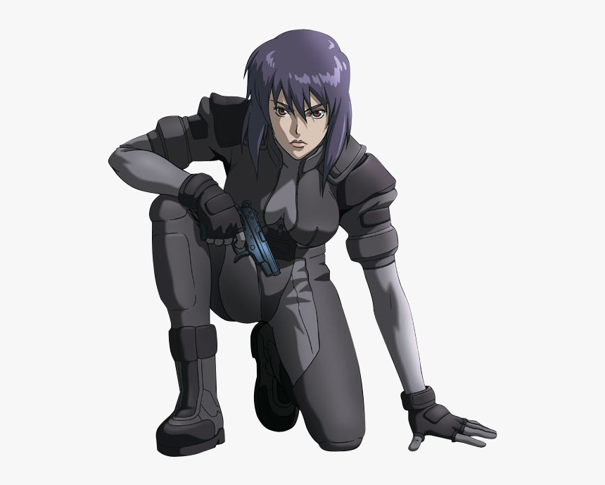 Motoko Kusanagi Ghost In The Shell Major Outfit Hd Png Download Kindpng