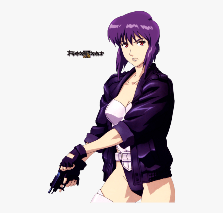 Ghost In The Shell Render Hd Png Download Kindpng